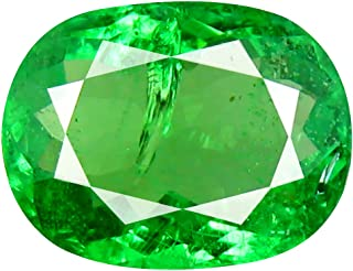 2.64 ct CUSHION CUT (10 x 8 mm) TANZANIAN TSAVORITE GREEN GARNET NATURAL LOOSE GEMSTONE