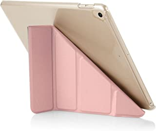 "Pipetto Origami iPad Case 9.7"" (2017/2018) 6th Generation & Air 1 with 5 in 1 Stand & auto Sleep/Wake Function Rose Gold/C..."