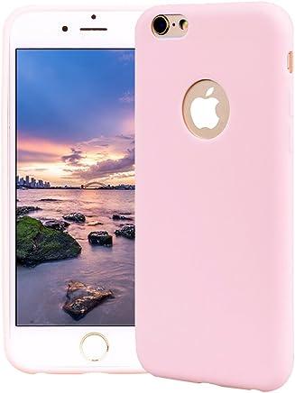 86ce95e3e6e Funda iPhone 6 Plus, Carcasa iPhone 6S Plus Silicona Gel, OUJD Mate Case  Ultra
