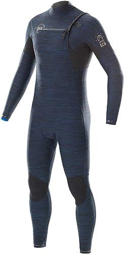 PICTURE EQUATION 3 2 CHEST ZIP Full Suit 2019 dark bleu melange, M