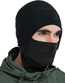 Helmet Liner Skull Cap Beanie with Ear Covers - Ultimate Thermal Retention and Performance Moisture Wicking. Perfect for Running, Cycling, Skiing & Winter Sports. Fits Under Helmets