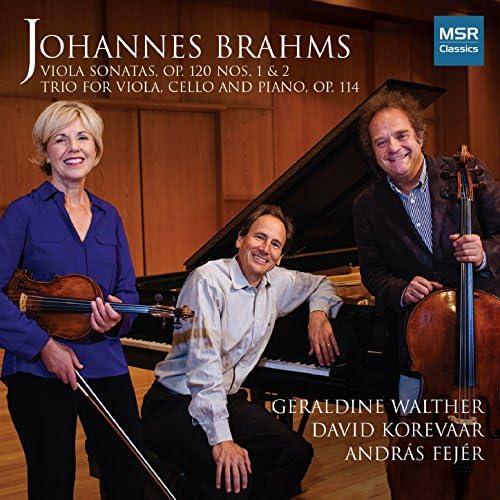 Geraldine Walther, David Korevaar & András Fejér