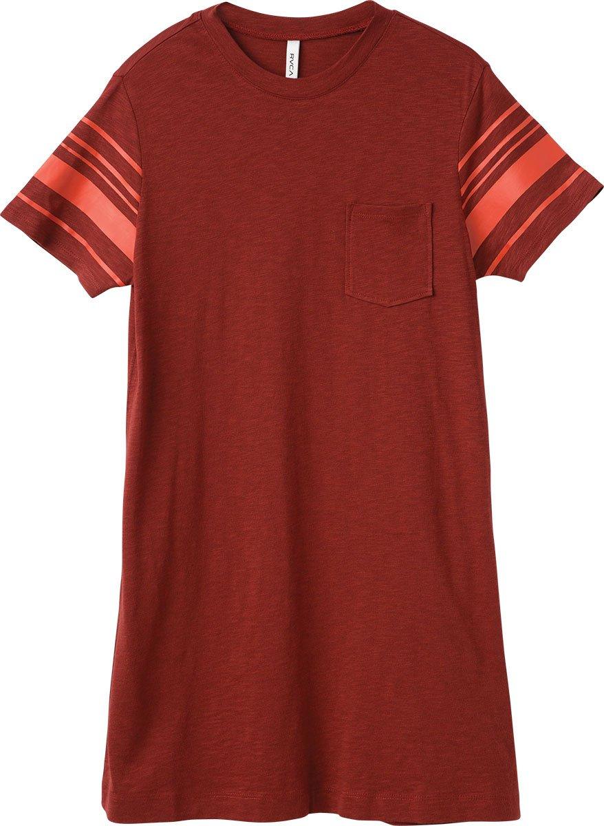 Available at Amazon: RVCA Women's Short Stop T-Shirt Dress