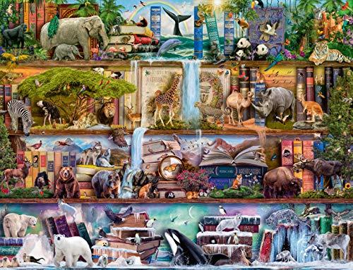 Ravensburger Puzzle 16652 - Aimee Stewart: Großartige Tierwelt - 2000 Teile