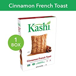 Kashi, Breakfast Cereal, Cinnamon French Toast, Non-GMO Project Verified, 10 oz