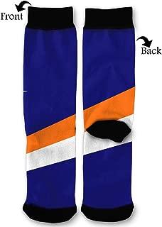 Marshall Islands Flag Socks Funny Fashion Novelty Advanced Moisture Wicking Sock for Man Women