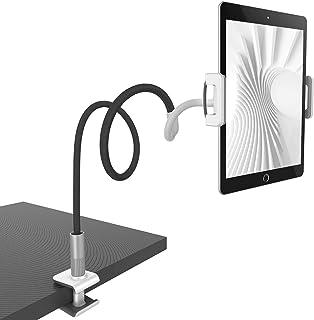Lamicall Soporte Tablet, Multiángulo Soporte Tablet : Soporte con Cuello de Cisne para Pad 2018 Pro 10.5/9.7, Pad Mini 2 3 4, Pad Air 2, Phone, Nintendo Switch, Samsung, Otras Tablets - Negro