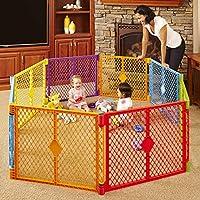 Toddleroo by North States Superyard Colorplay 8 Panel Baby Play Yard