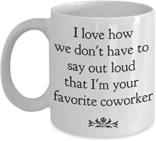 Work funny Coworker Colleagues mug coffee tea gifts going Away for Leaving Boss Farewell Goodbye ideas Thank you leave men women favorite