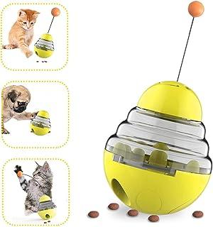 ペット給餌おもちゃ ABsuper おやつおもちゃ おやつボール 難易度調節可能 ペット給餌おもちゃ 猫犬用 餌入れ 運動不足解消 おやつおもちゃ 安全て上質な材料 丈夫で長持ち おやつボール 自動給餌 使いやすい 倒れないエッグ フード入れ ...
