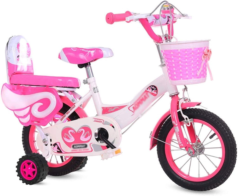 ETZXC Le vélo Rose de la Fille de vélos Convient aux Garçons en intérieur Petit vélo, vélo d'apparteHommest en Plein air -315 Ans, Moyen de Transport pour Enfants