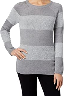 Calvin Klein Womens Textured Pullover Sweater