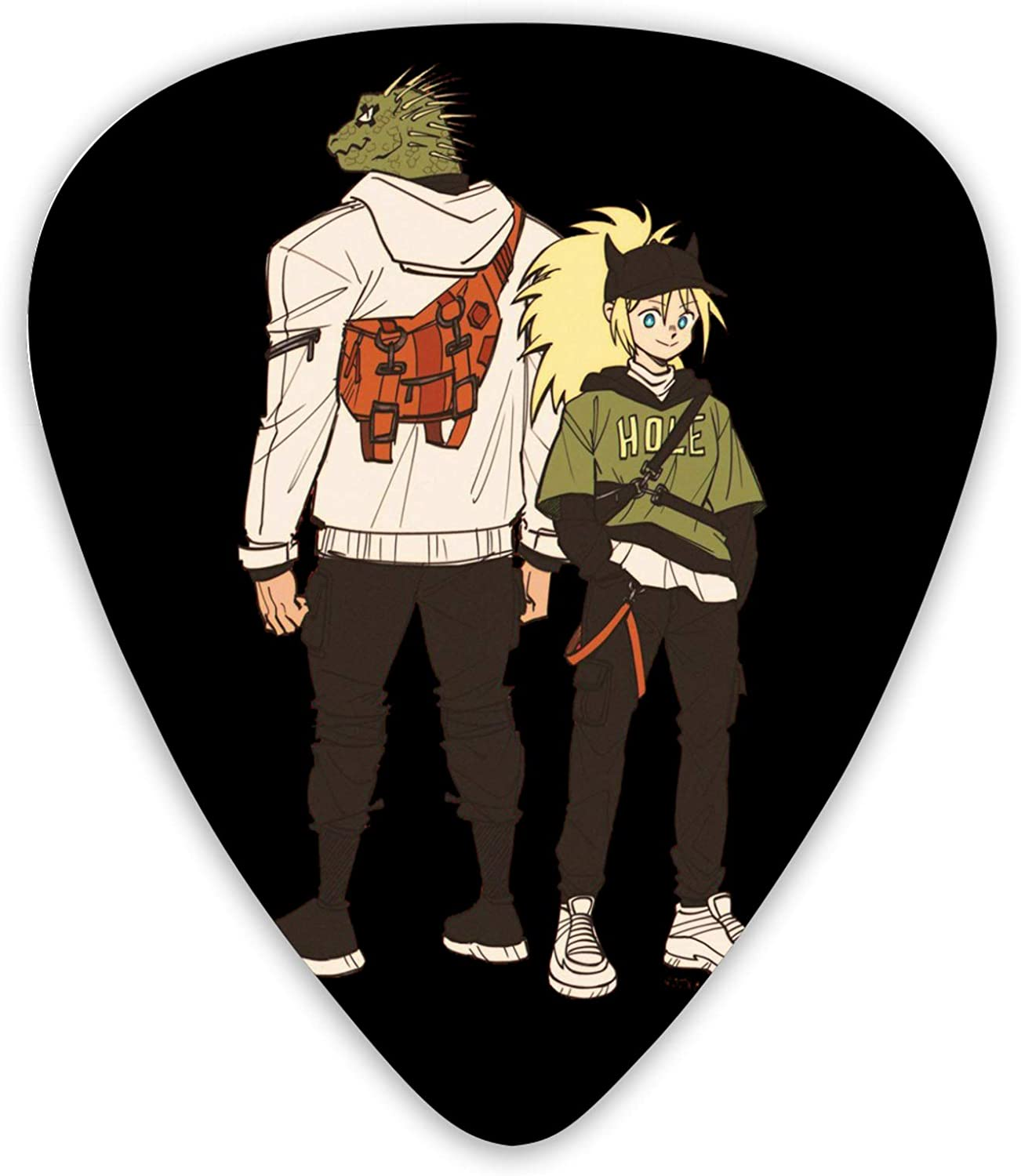 Dorohedoro Guitar Picks 12 Popular brand Free shipping on posting reviews in the world Variety - Plectrum Packs