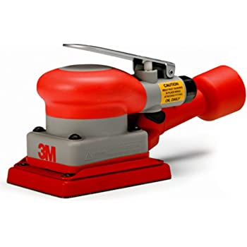 10000 rpm 3 x 4 Tool Size TM 3M Self-Generated Vacuum Pack of 1 Orbital Sander 20431