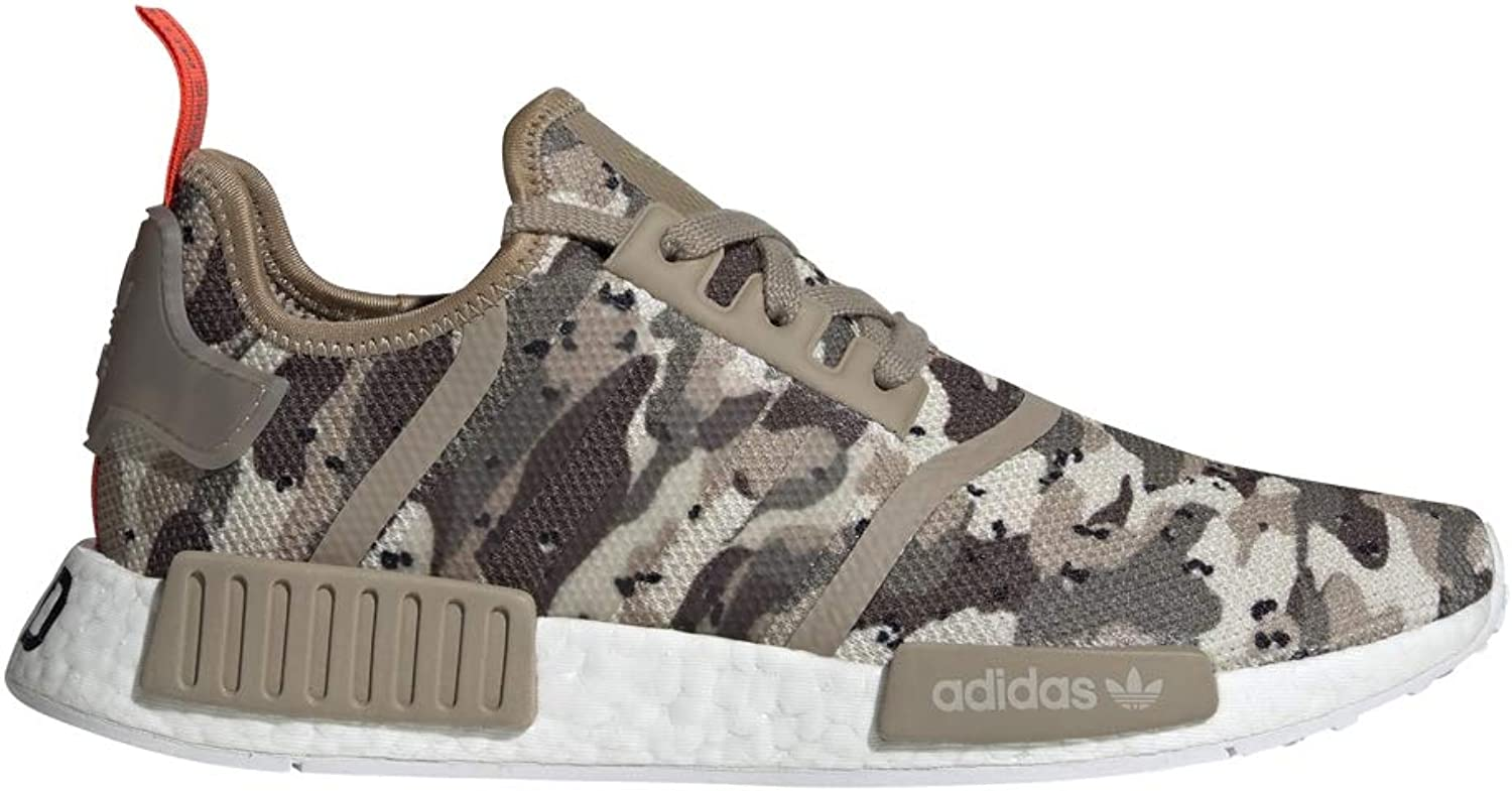 Adidas Originals NMD_R1 shoes Mens Casual 14 Clear Brown-Solar Red