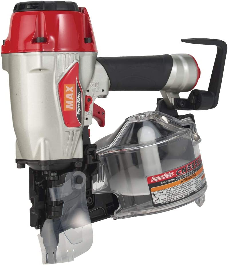 """MAX USA CORP SuperSider CN565S3 Siding Coil Nailer up to 2-1/2"""" - -"""