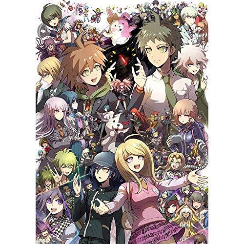 Chutoral Anime Danganronpa Poster Manga Wandkunst Bild Poster und Gemälde für Zimmer Heimdekoration (Stil 05)