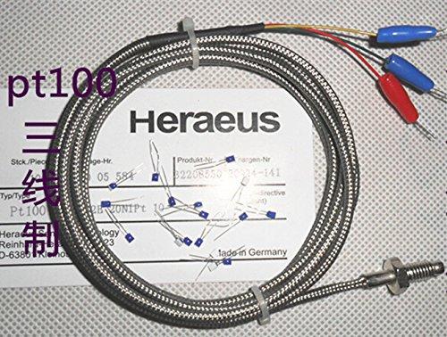 Pt100 Thermometers Senser Probe 3 Draad -200 tot 450°c