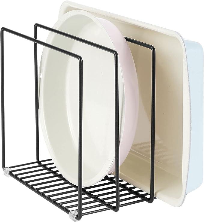 1115 opinioni per mDesign Organizer cucina in metallo – Porta pentole salvaspazio con 3 scomparti