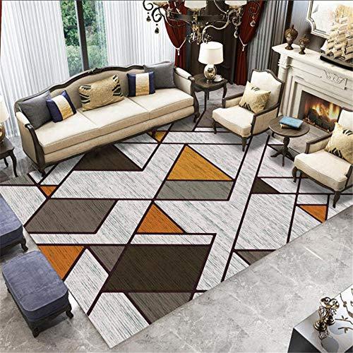"""Alfombra Infantiles Aparada de la Sala de Estar de la Alfombra marrón Gris Suave Puede ser máquina alfombras para Salon decorqcion Dormitorio 180X280CM 5ft 10.9"""" X9ft 2.2"""""""