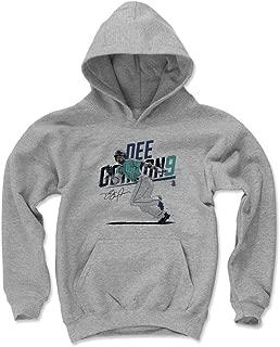 500 LEVEL Dee Gordon Seattle Baseball Kids Hoodie - Dee Gordon Slant