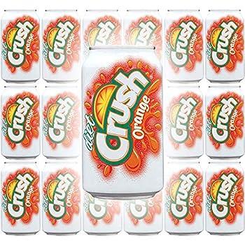Diet Crush Orange Soda 12 Fl Oz Cans  Pack of 18 Total of 216 Fl Oz