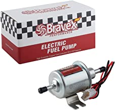 Bravex Universal 12V Low Pressure 2.5-4 PSI Gas Diesel Inline Electric Fuel Pump HEP-02A (2.5-4 PSI)