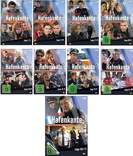Notruf Hafenkante, Vols. 1-9: Folgen 1-117 (36 DVDs)