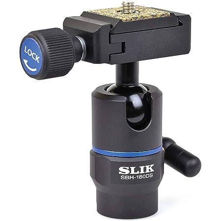 SLIK 雲台 SBH-180 DS 自由雲台 アルカスイス規格互換クイックシュー 小型 206751