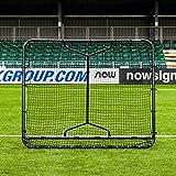 RapidFire Mega Soccer Rebounder | Adjustable Foldable Soccer Rebound Net [Two Sizes] (Small (5ft x 6ft))