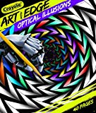 Crayola Optical Illusions Coloring Book, 40 Coloring Pages, Gift