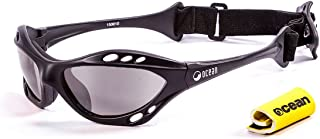 Cumbuco Polarized Sport Sunglasses - Built in head strap and hydrophobic coated lenses, ideal for land and watersports.