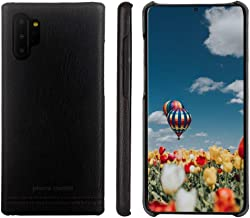 Samsung Galaxy Note 10 Plus/10+ Case,Pierre Cardin Premium Genuine Cowhide Leather with New Slim Design Hard Back Thin Protection Cover for Galaxy Note 10 Plus/10+(6.8