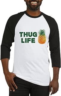 CafePress Thuglifepineapple Baseball Shirt