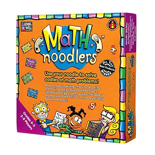 Edupress Math Noodlers Game, Grades 4-5 (EP62351), Multicolor