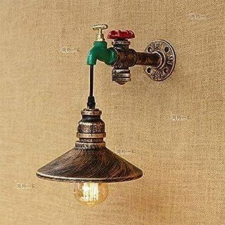 Edison Industrial Loft Iron Rustic Wall Lamps Wall Lamps Small Rake Cashier with E27 Socket for Bar Bar Restaurants Coffee...