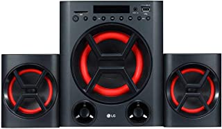 LG XBOOM Multimedia Audio System-LK72B, Black, PK72