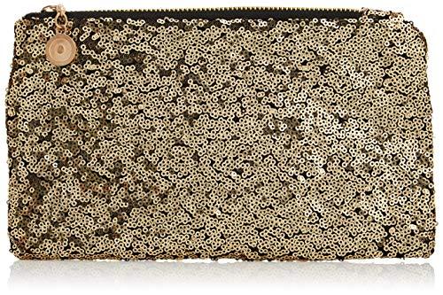 Glamza Glitter make-up cosmetische handtas, goud, goud1 eenheden
