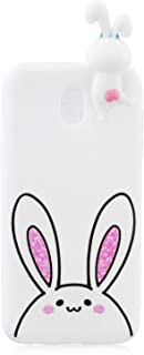 white rabbit candy phone case