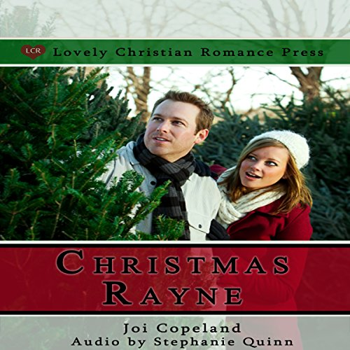 Christmas Rayne audiobook cover art