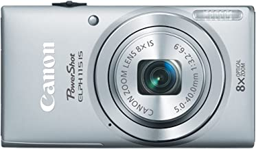 Best Canon PowerShot ELPH 115 16MP Digital Camera (Silver) (OLD MODEL) Review