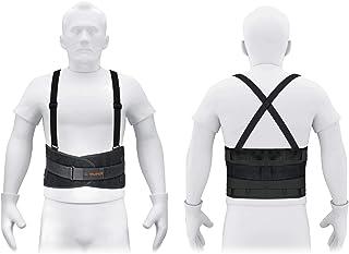 Truper FAJA-MX, Faja con tirantes ajustables, tercer cinturón, talla mediana