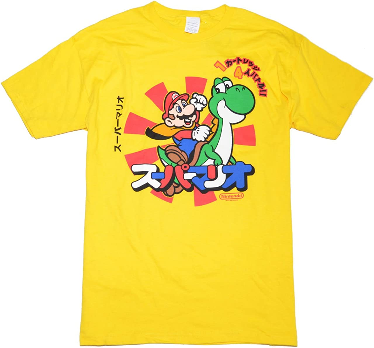 Mario Delta Pro Weight T-Shirt (L 16years, Yellow)