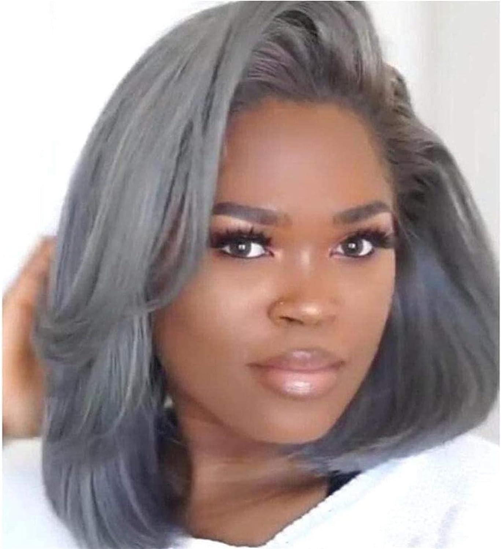 XZGDEN Hair Replacement Wig Short Grey for Black Bob Wigs Women Nashville-Davidson Mall Elegant