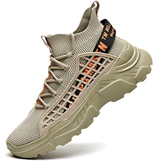 Mens Athletic Running Walking Shoes Non Slip Fashion Sneakers