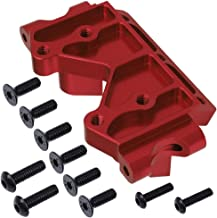 Hobbypark Aluminum Front Bulkhead Replacement of 2530 for Traxxas Slash 2WD 1/10 Scale Upgrade Parts(Red)