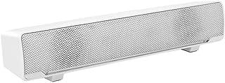 USB-gevoede computerluidsprekers, bedrade 2.0 soundtrack pc-soundbar, 3W bas stereo surround mini soundbar met ademhalings...