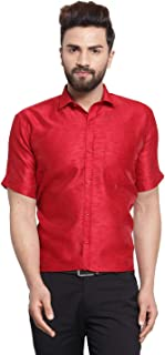 JAINISH Men's Cotton Silk Shirt