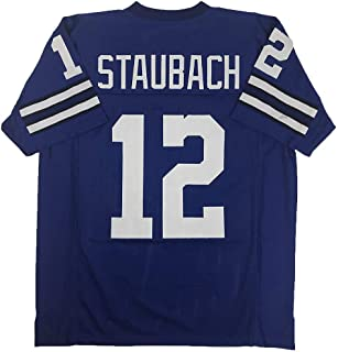 Nacenly Men's/Women's/Youth Roger_Staubach_#12 Jersey for American Football Jerseys Birthdays Gift