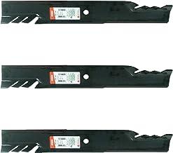 3PK Oregon 596-347 G5 Gator Mulching Blades for Scag 481708 481712 482879 48111 48304